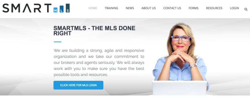 smart mls webpage